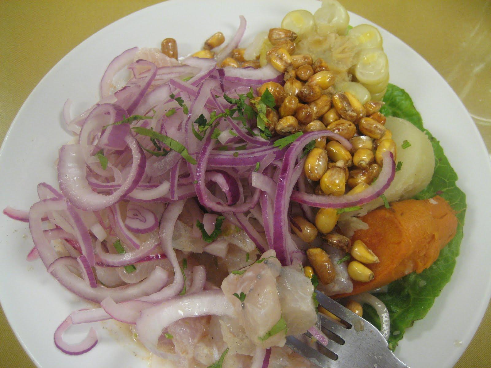 Peru food names for Cuisine names