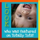 Look Who&#39;s Featured on Totally Tots!