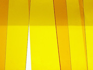modern yellow abstract photograph