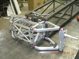 Tom Yancer Race Cars Front Suspension System