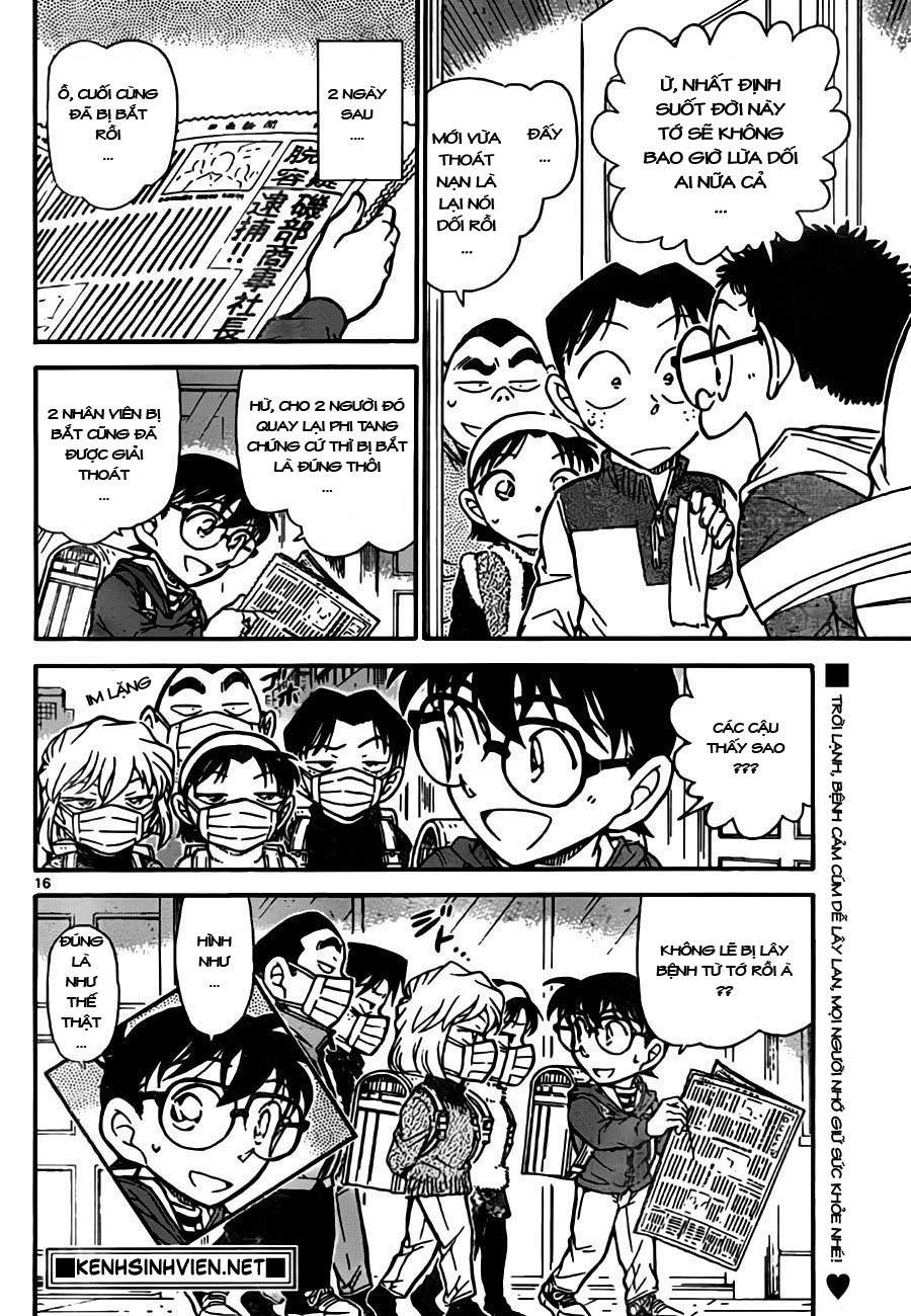 Detective Conan - Thám Tử Lừng Danh Conan chap 761 page 17 - IZTruyenTranh.com