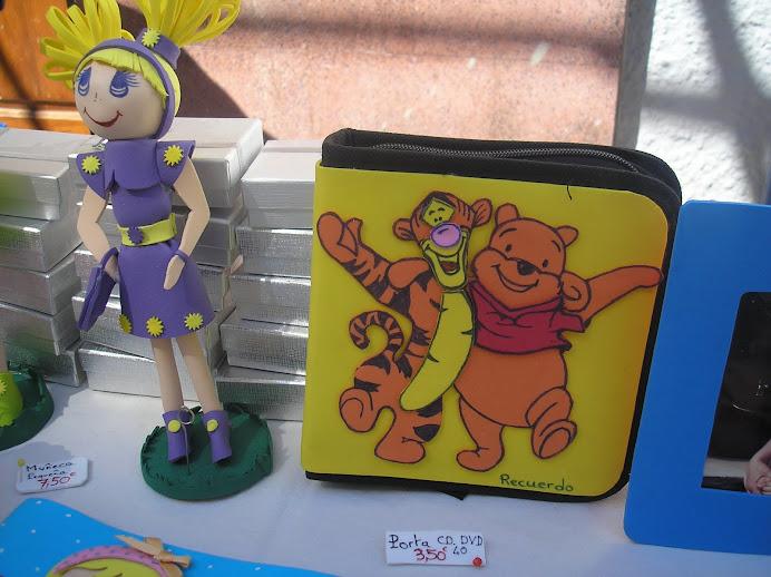 porta CD o DVD 40 Winnie Pooh