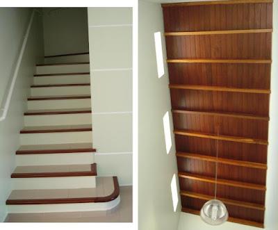 O corpo da escada