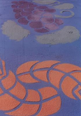 Arte no chão