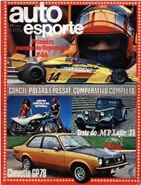 Capa da revista de 1978