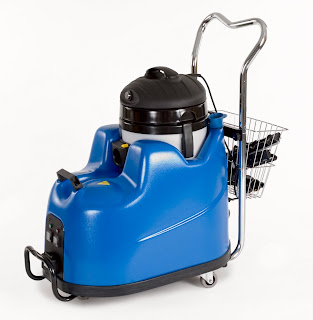 Using floor steam cleaners to make your sealed concrete for Cleaning stained concrete floors steam mop