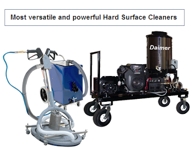 Floor Cleaner with Motorized Spinner Head