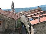 Virgoletta. Veduta del borgo