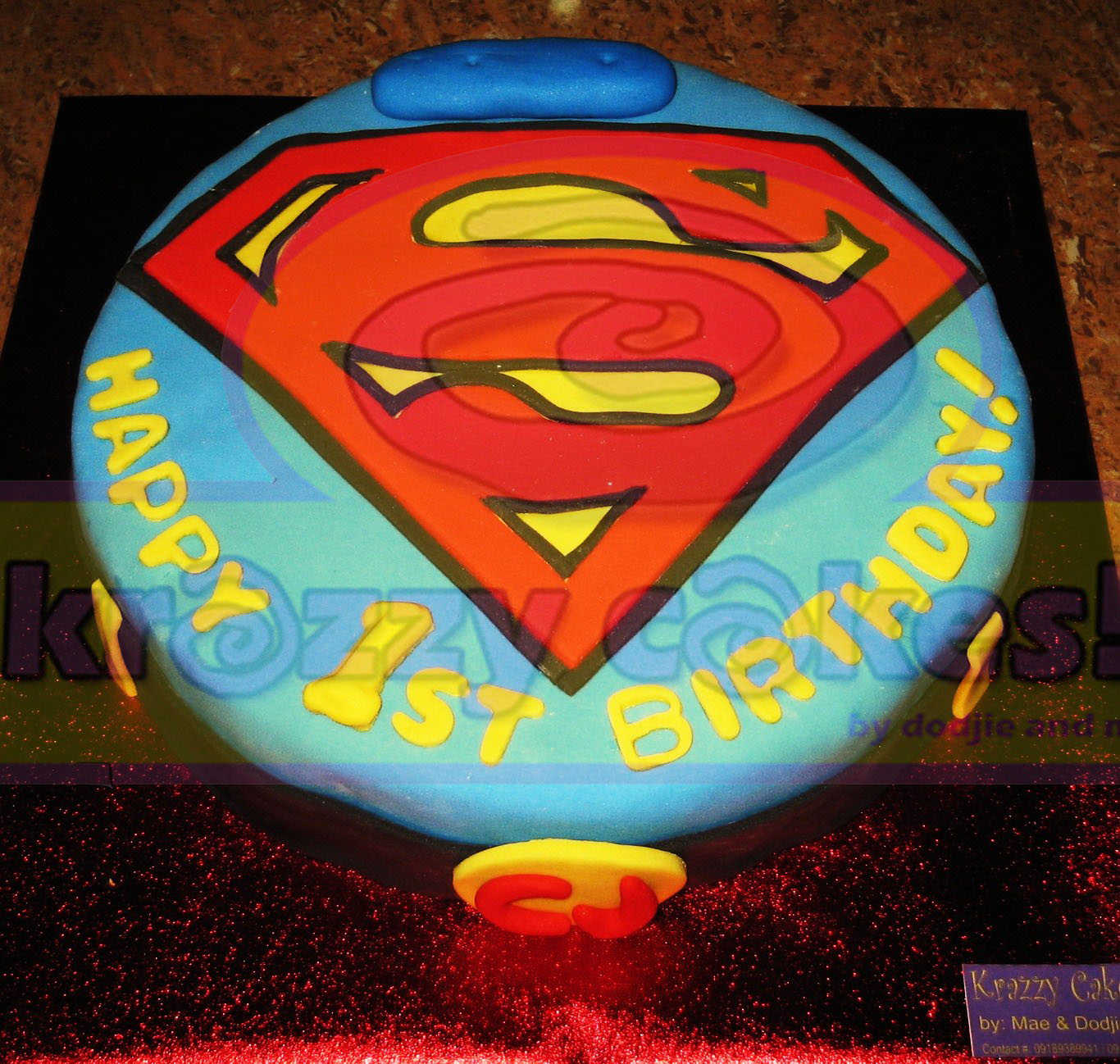 Cake Images Superman : Krazzy Cakes!!!: Superman Cake