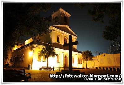 澳門 嘉模聖母教堂