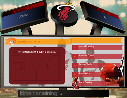 CHi iNTERACTiVE: Miami Heat :: Trivia Game