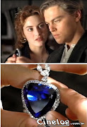 Blog Titanic: Fotos do Coração do Oceano ( Le Coeur de La Mer ) colar que .