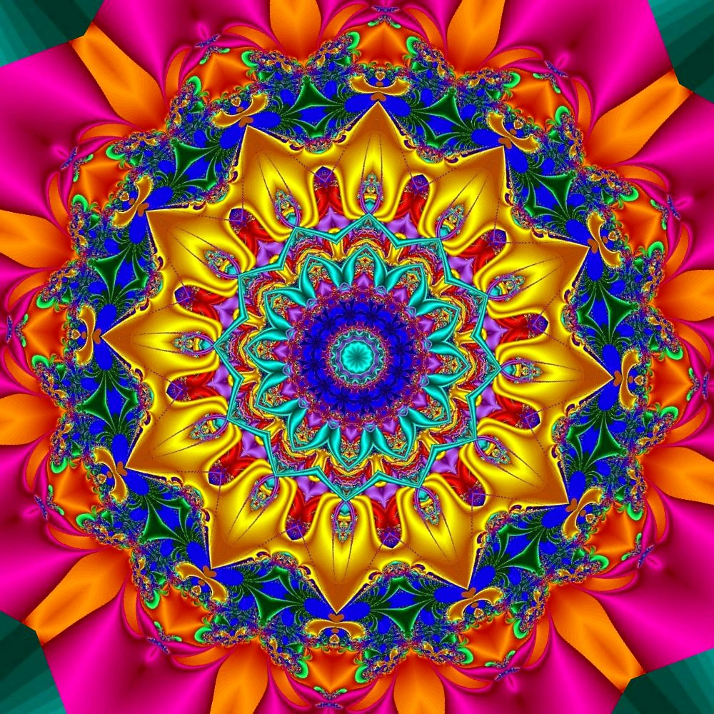 Margy 39 s musings art designs flowers fractals for Bright pretty colors