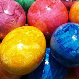 Gambar-gambar warna-warni cantik
