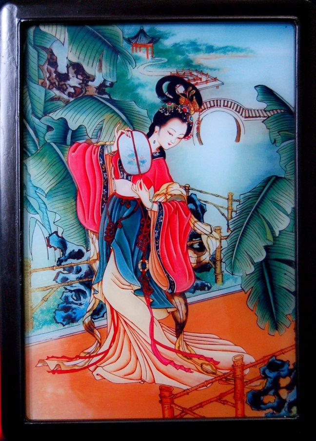 Glass Painting, Glass Painting Designs, Reverse Glass Painting