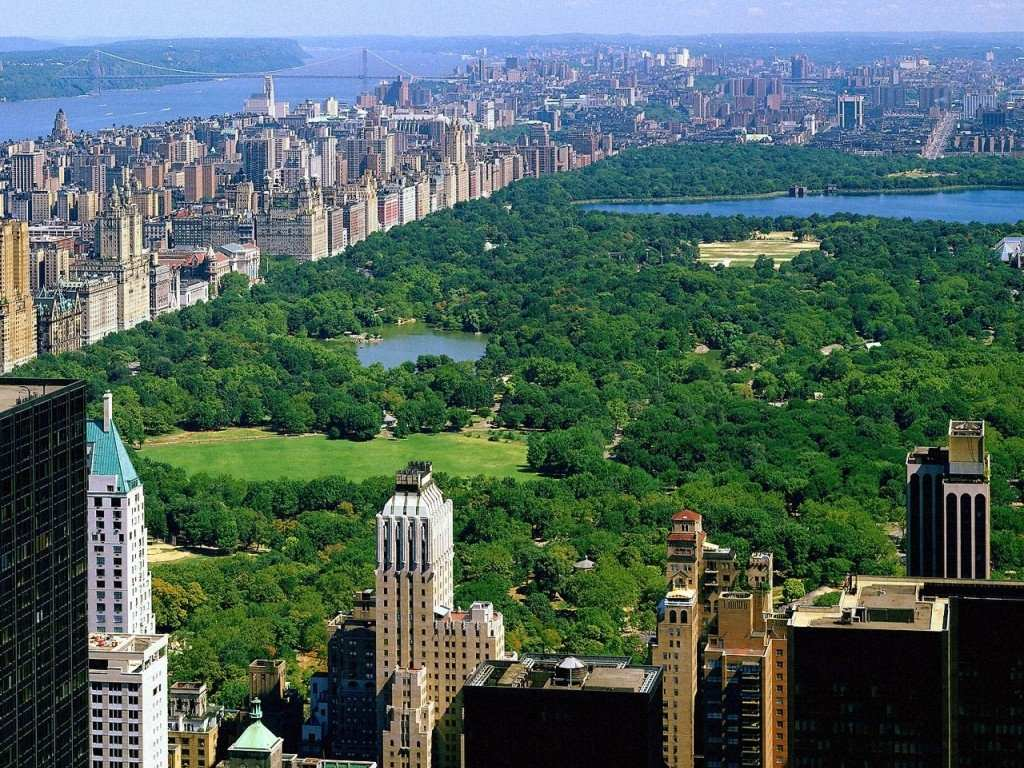 Central park new york wallpaper