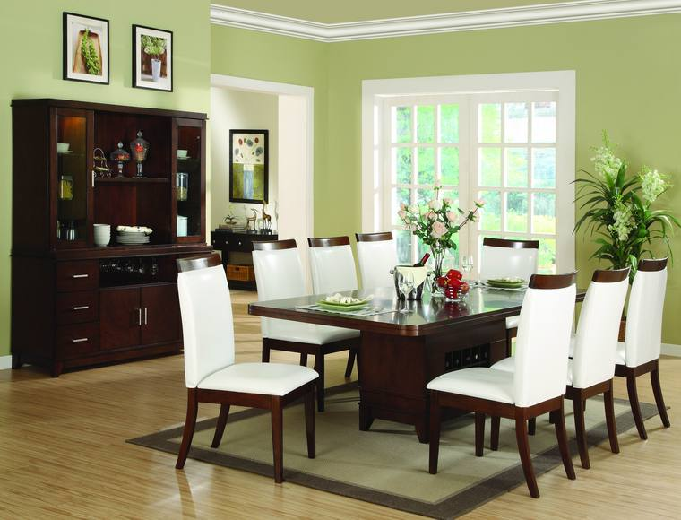 Green Gape Green Dining Rooms