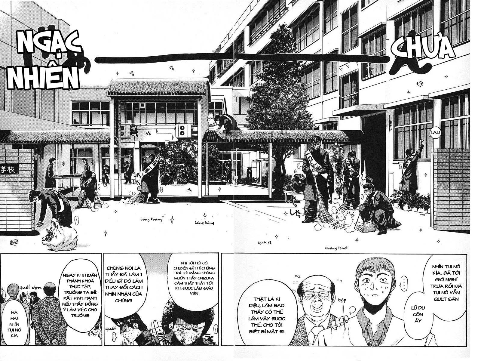Great Teacher Onizuka chap 3 Trang 23 - Mangak.info