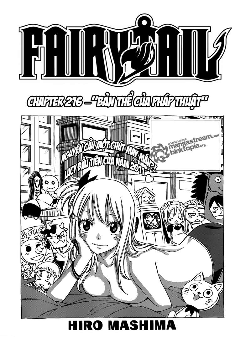 Fairy Tail chap 216 page 1 - IZTruyenTranh.com