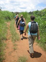Hiking at Bukaleba