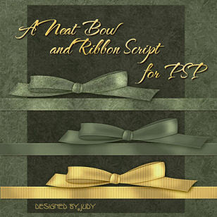 Link to My Neat Bow and Ribbon Script