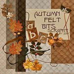 Link to Autumn Felt Bits Scrapkit