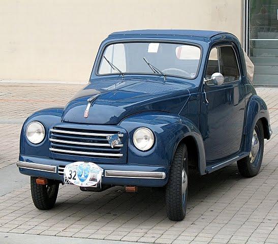 Pietro Brosio Gallery: Fiat 500 Topolino