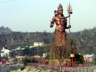 Lord Shiva at Haridwar