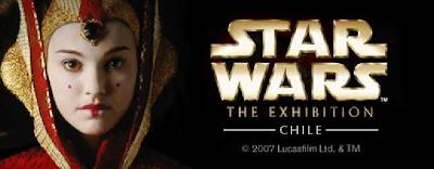 blog star wars Chile V region star wars the exhibition en chile exhibición de star wars en chile