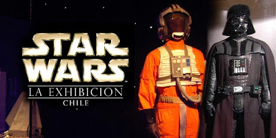 STAR WARS THE EXHIBITION chile star wars la exhibicion chile exposicion de star wars