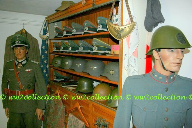 WW2 Uniforms Mannequin and German Militaria WW2