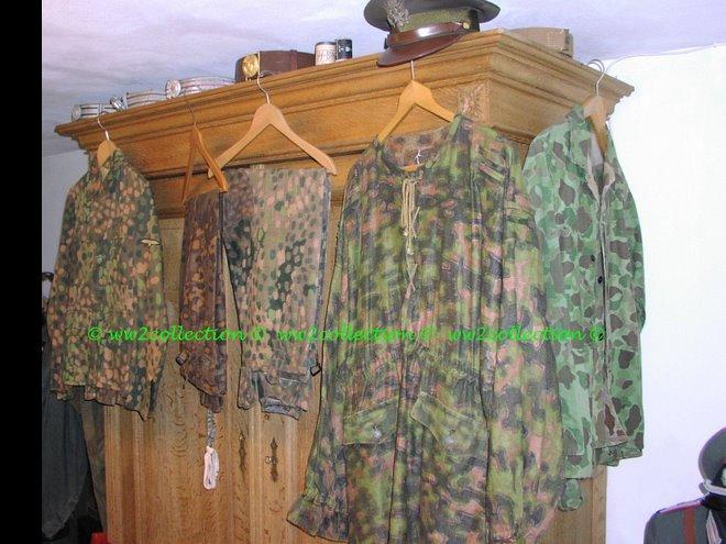 Camouflage Smock Waffen-SS, Blurred-edge/Rauchtarn