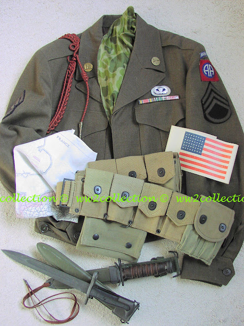 WW2 USA Paratrooper 82nd Airborne Division, Operation Market Garden