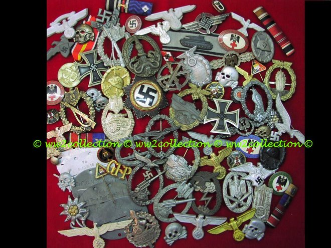 War Badges WW2 German Kriegsabzeichen