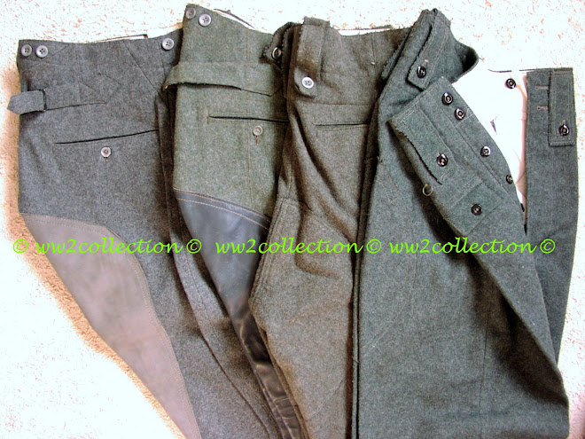 WW2 German Breeches and an M44 Field Trousers