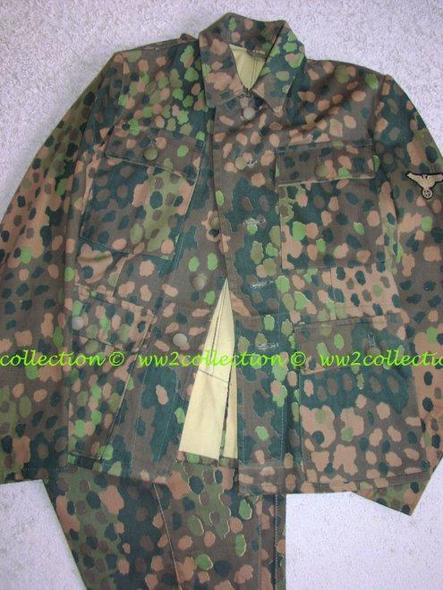 WW2 Waffen-SS Tarnuniform, camouflage uniform SS