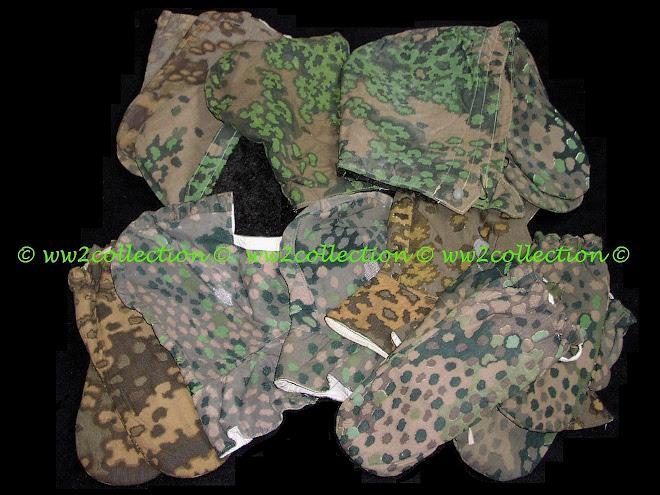 Waffen-SS camo Oak leaf pattern Camo hood