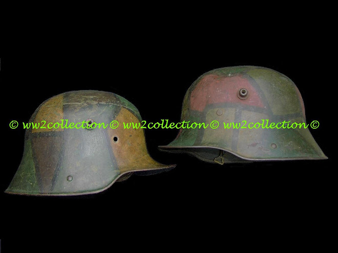 German Helmet camouflage WW1 1914-18