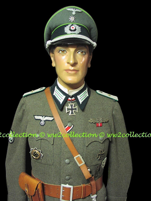 German Army WW2  Gebirgsjäger uniforms Mannequin