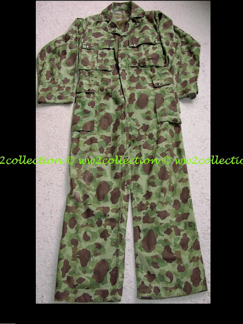 Camouflage WW2 US one piece Jungle Suit