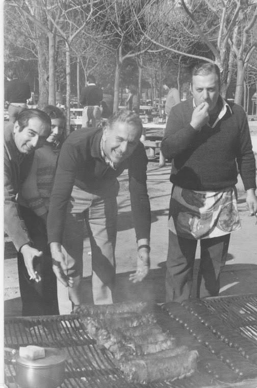 3 próceres: Lobo, Carlitos y Paterno