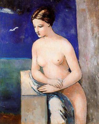 Mujer contemplativa