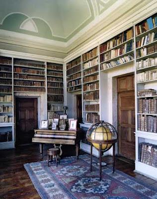 Biblioteca do Palacio dos Marquese de Fronteira Lisboa I