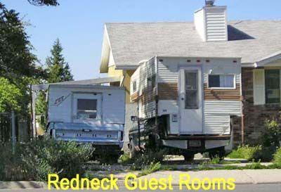 Redneck Guest Room