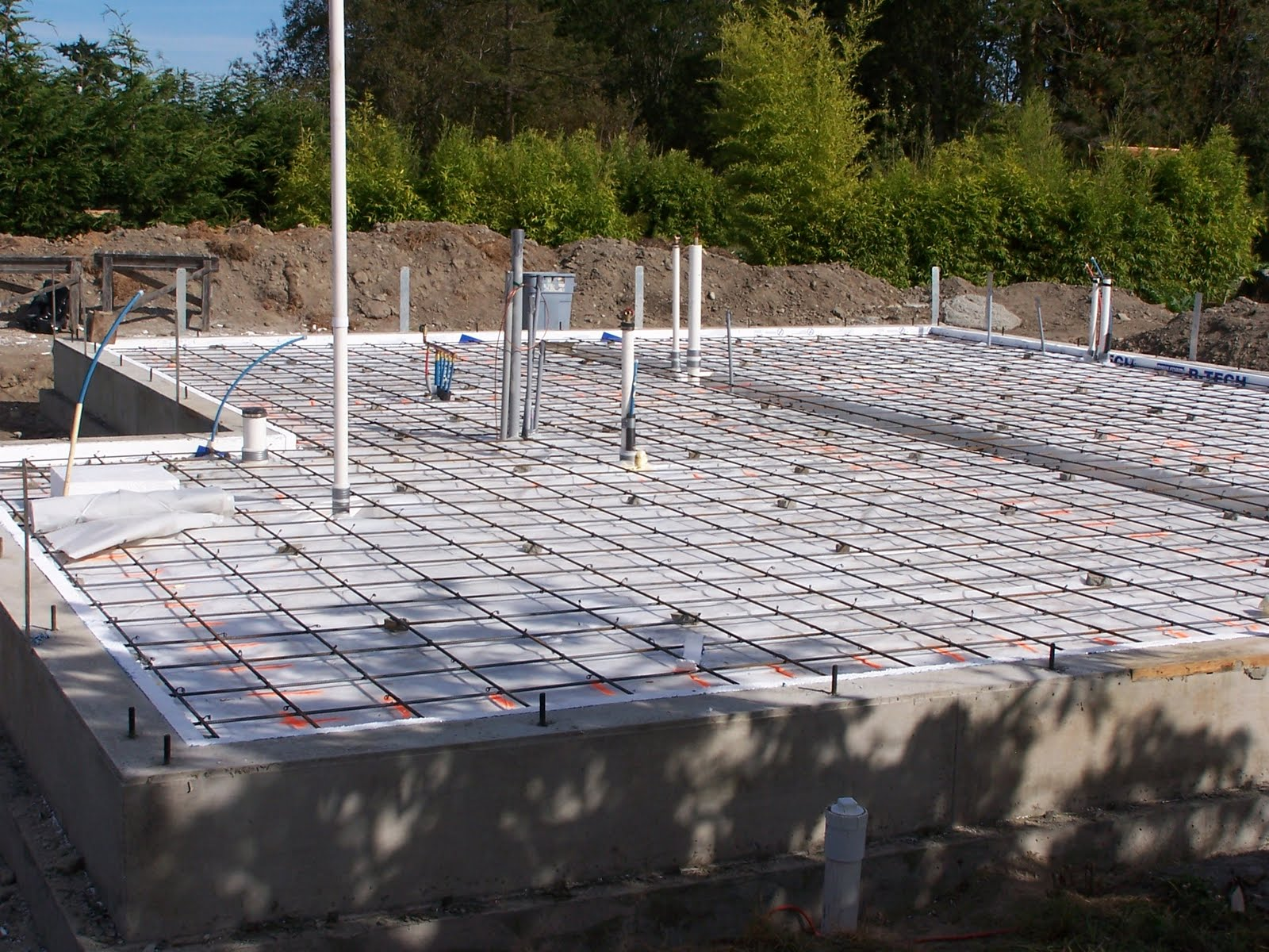 Corona gardens passive house foundation ii for House slab foundation