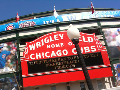 wrigley field flags 2