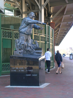 Harry Caray Statue Crack