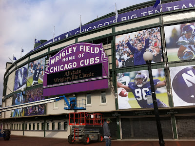 Wrigley Marquee Purple