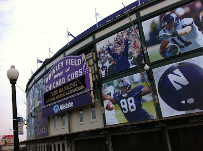 Wrigley Purple Marquee