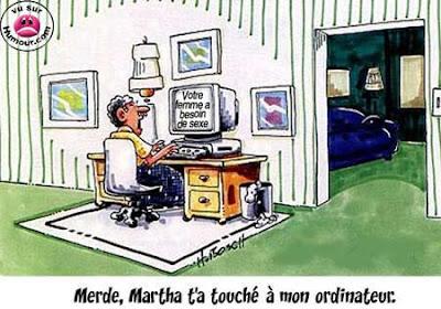 Humour à la Jeannine: LE MERVEILLEUX MONDE DE L'INFORMATIQUE